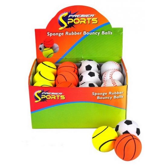 Kinder stuiterbal voetbal