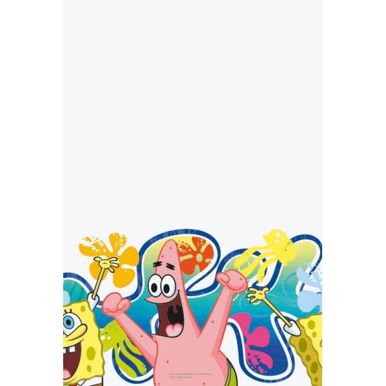 Kinder thema tafelkleed Spongebob 180 cm