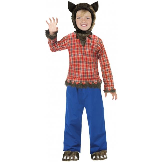 Kinder verkleedkleding Wolfie weerwolf