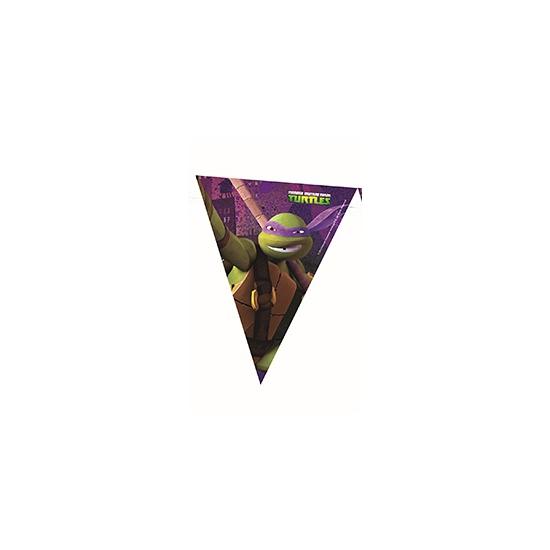 Kinderfeest vlaggenlijn Ninja Turtles 360 cm