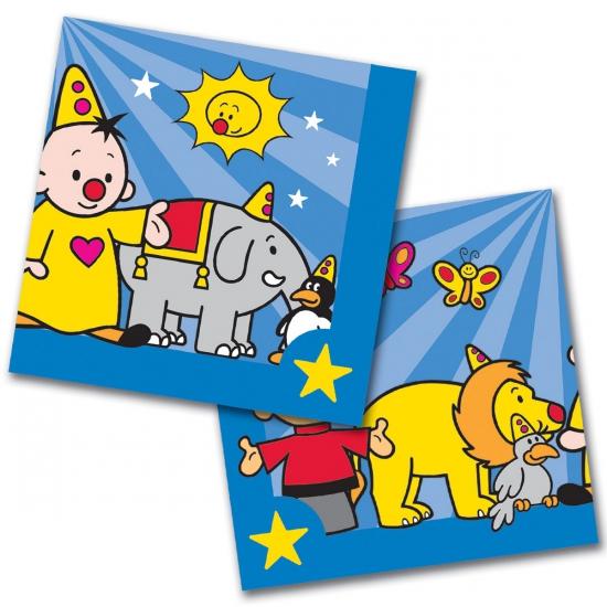 Kinderfeestje Bumba servetten 20 stuks