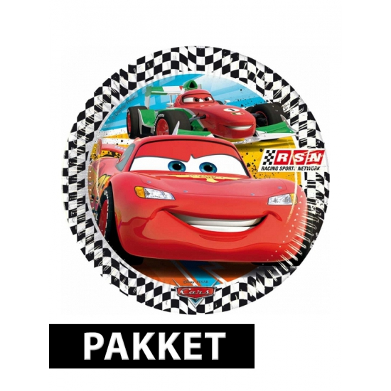 Kinderfeestje Cars feestpakket
