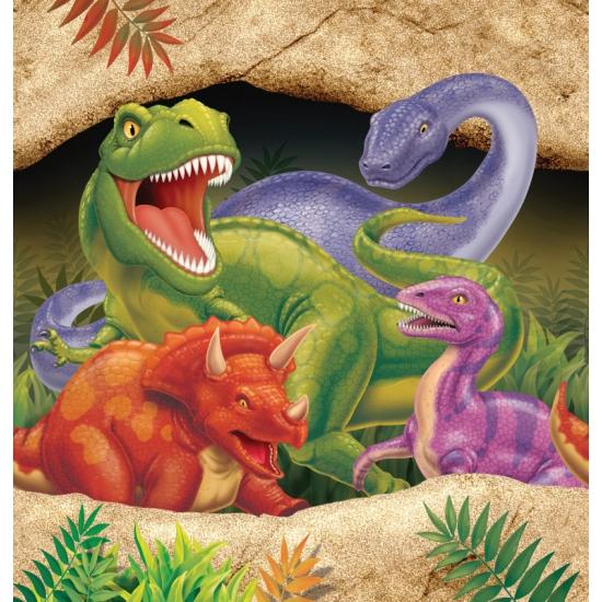 Kinderfeestje dinosaurus tafelkleed