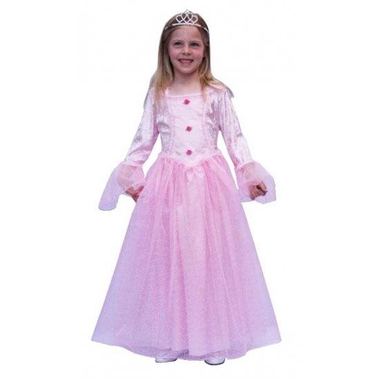 Kinderkostuum roze prinsessenjurk