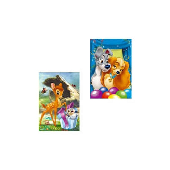 Kinderverjaardag feest wenstkaarten Disney