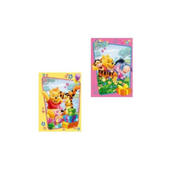 Kinderverjaardag Winnie wenstkaarten Disney