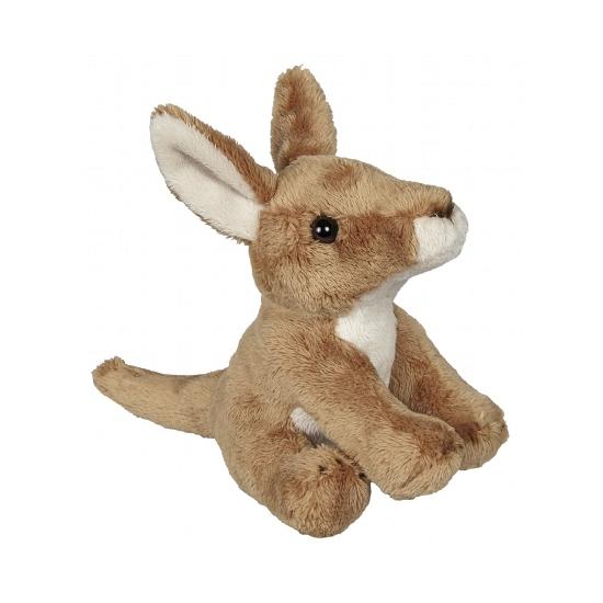 Kleine knuffel kangoeroe 15 cm
