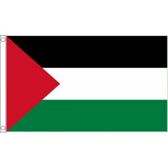 Kleine vlag van Palestina 90 x 60 cm