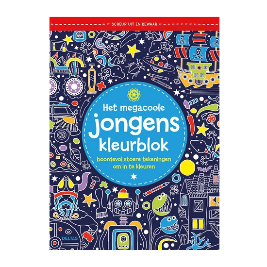Kleurboek voor jongens
