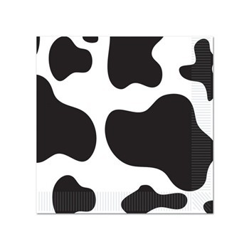 Koe print servetten 16 stuks