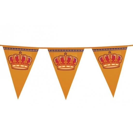 Koningsdag versiering vlaggenlijn