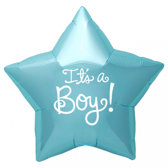 Kraamcadeau folie ballon Its a Boy