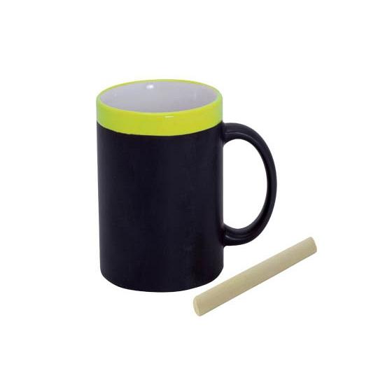 Krijt drinkbeker geel