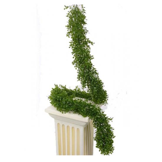 Kunst buxus planten slinger 180 cm