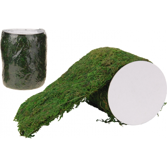 Kunst mos groen 120 x 12 cm