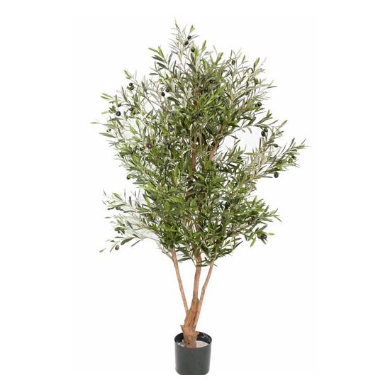Kunst olijf boom met olijven 150 cm