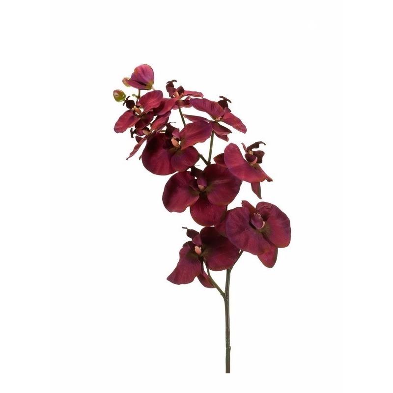 Kunst Orchidee tak 100 cm paars