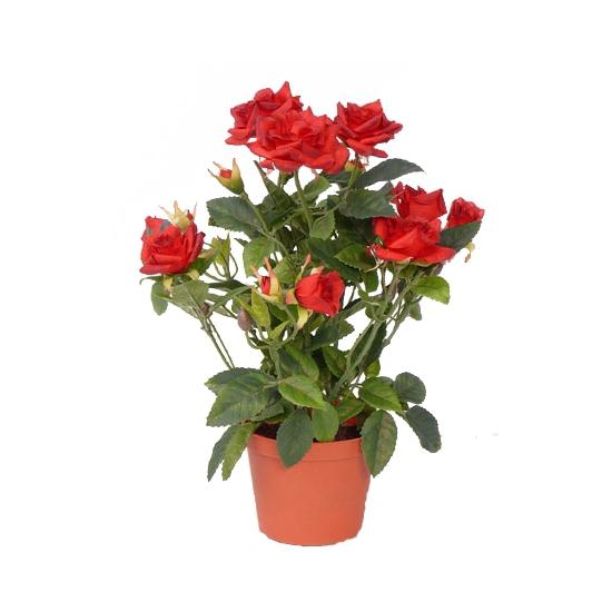 Kunst rode rozen 20 cm