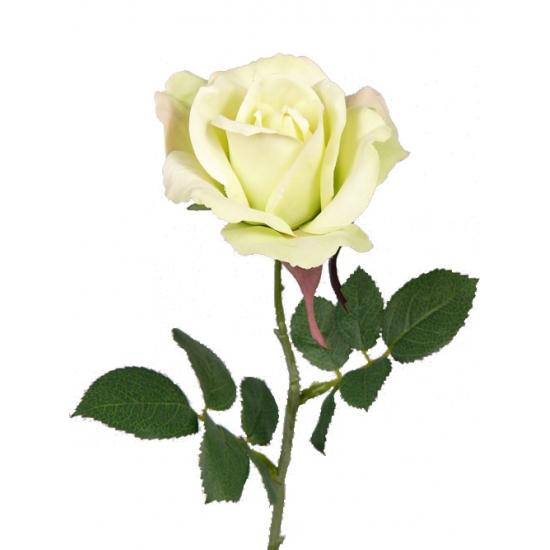 Kunst roos Carol geel 37 cm