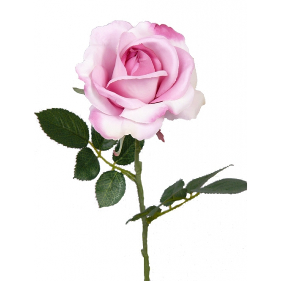 Kunst roos Carol roze 37 cm