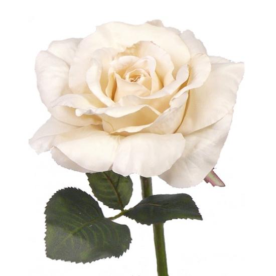 Kunst rozen wit 31 cm