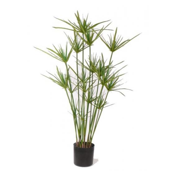 Kunstplant papyrus 90 cm