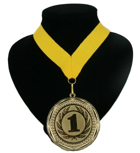 Landen lint nr  1 medaille geel