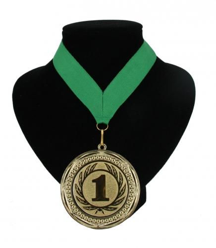 Landen lint nr  1 medaille groen