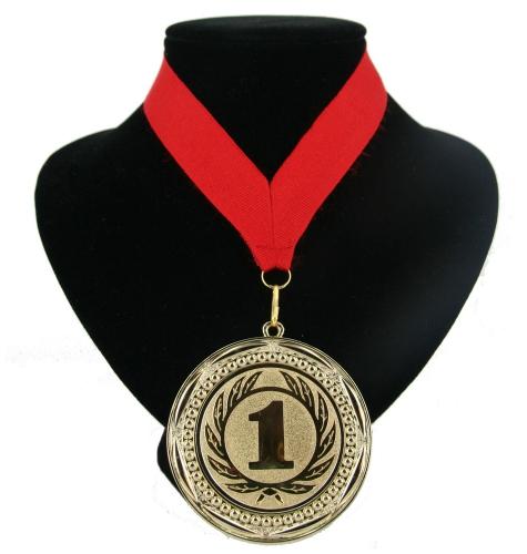 Landen lint nr  1 medaille rood