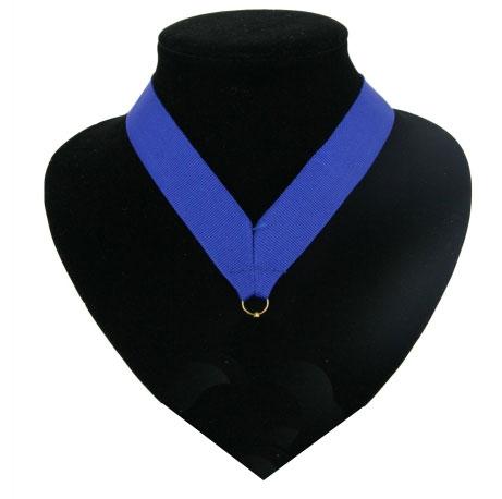 Landen lint voor medaille blauw
