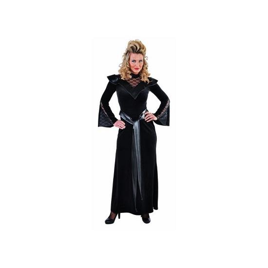 Lange vampier jurk dames luxe