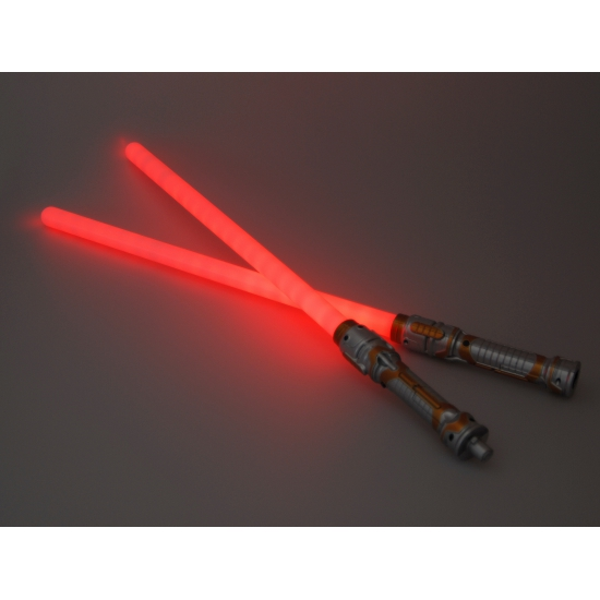 Laser zwaard rood LED licht 140 cm
