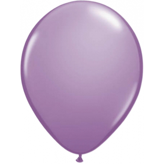 Lavendel helium ballonnen 50 stuks