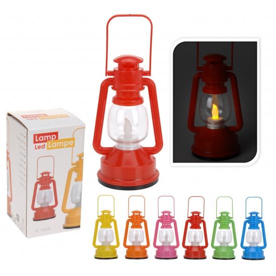 LED licht lantaarn gekleurd
