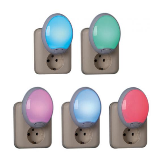 LED nachtlampjes 2 stuks