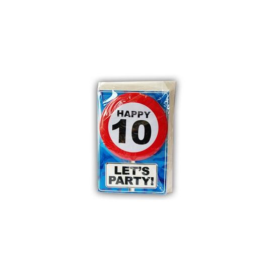 Leeftijd ansichtkaart 10 jaar
