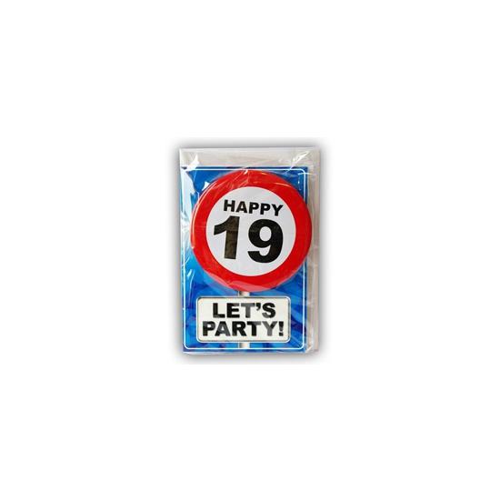 Leeftijd ansichtkaart 19 jaar