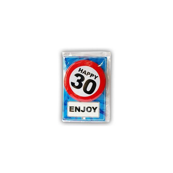 Leeftijd ansichtkaart 30 jaar