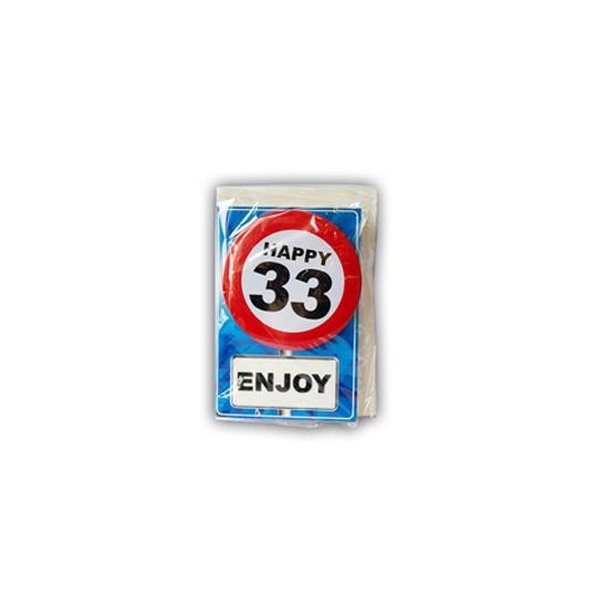 Leeftijd ansichtkaart 33 jaar