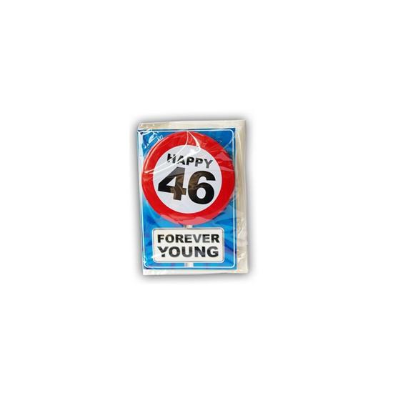 Leeftijd ansichtkaart 46 jaar