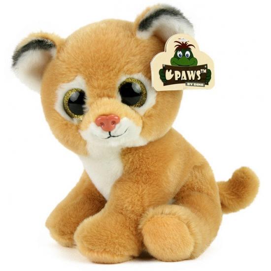 Leeuwin knuffeltje lichtbruin 22 cm