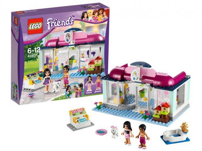 Lego kinderspeelgoed 41007 Friends dierensalon