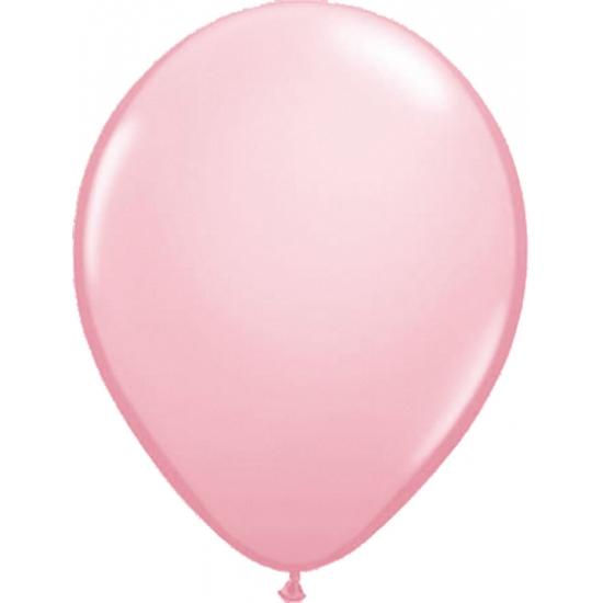 Lichtroze ballonnen 50 stuks