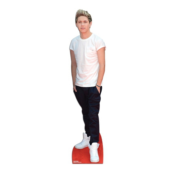 Life sized Niall Horan bord