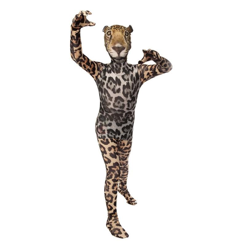 Luipaarden morphsuits voor kids