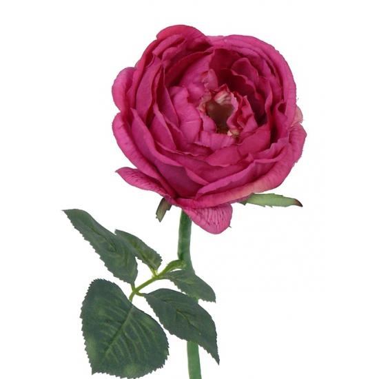 Luna kunst roos rood 33 cm