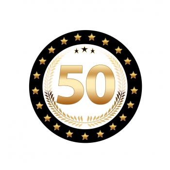 Luxe 50 geworden bierviltjes