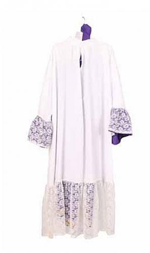 Luxe Sinterklaas habijt met paarse broek