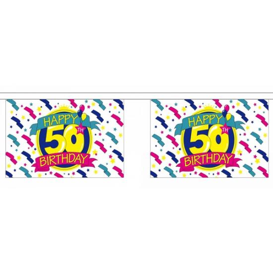 Luxe slinger Happy 50th Birthday