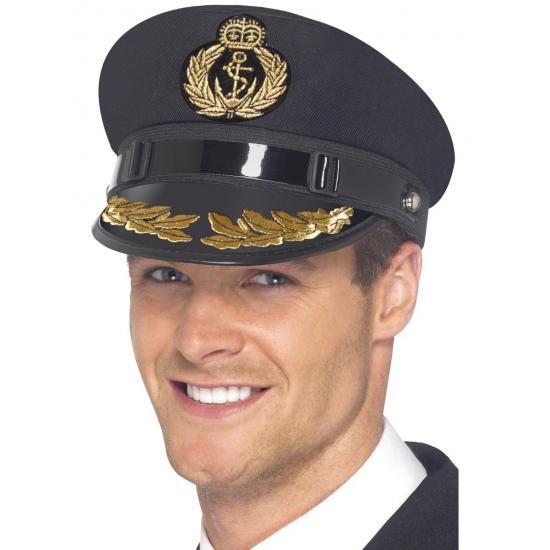 Marine hoeden blauw